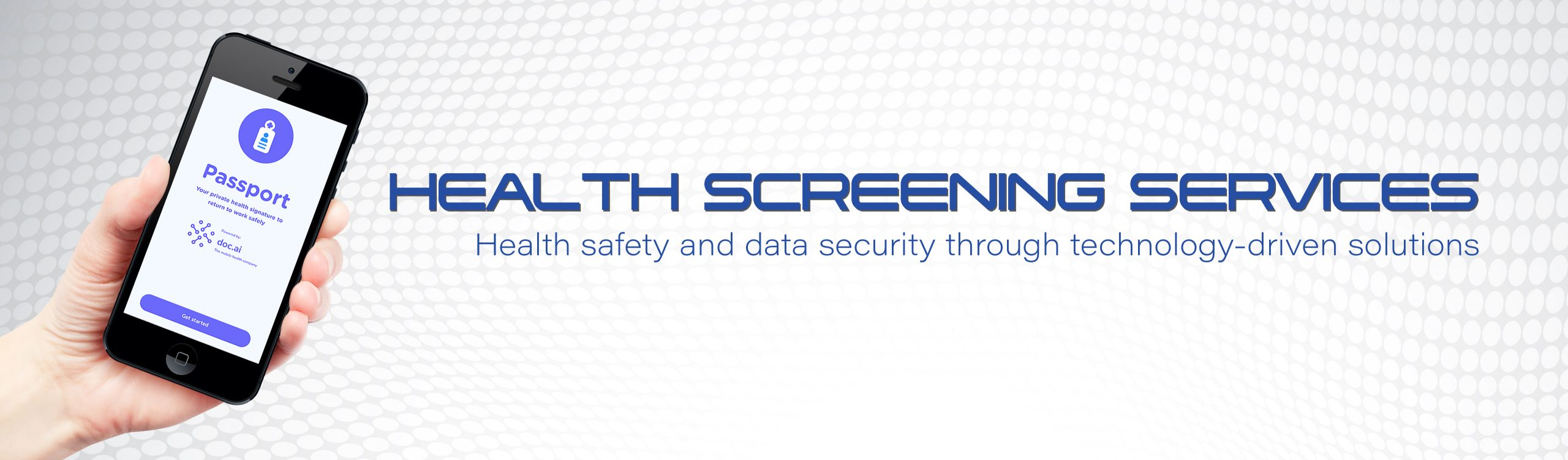 Health Screening Services | Health safety & data security through technology-driven solutions