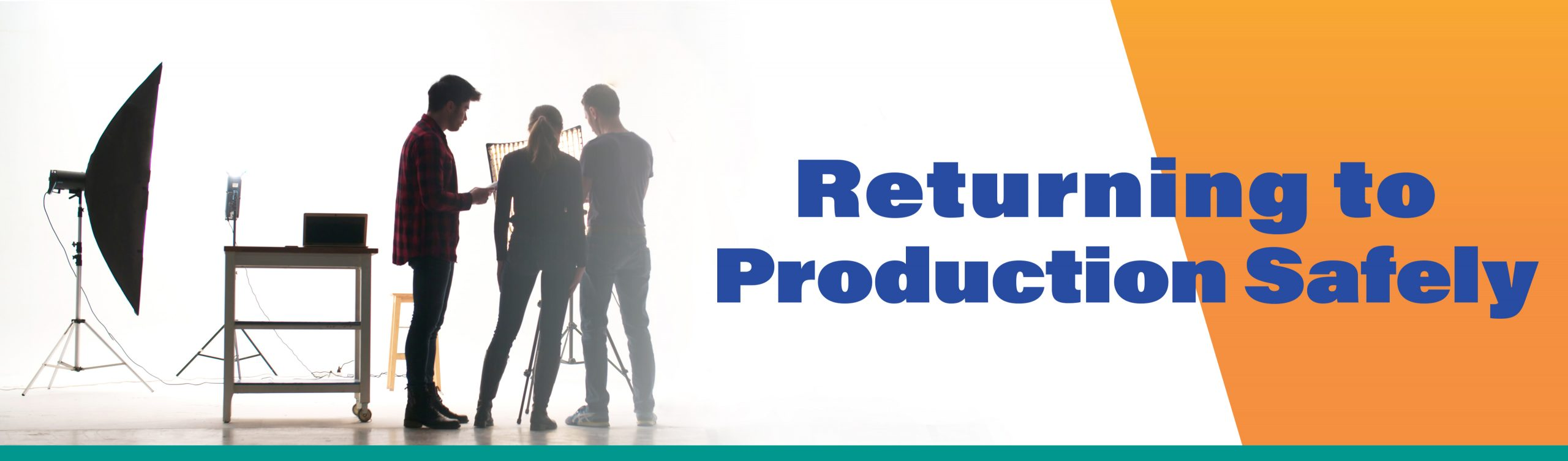 Returning to Production Safely Decorative Banner Image