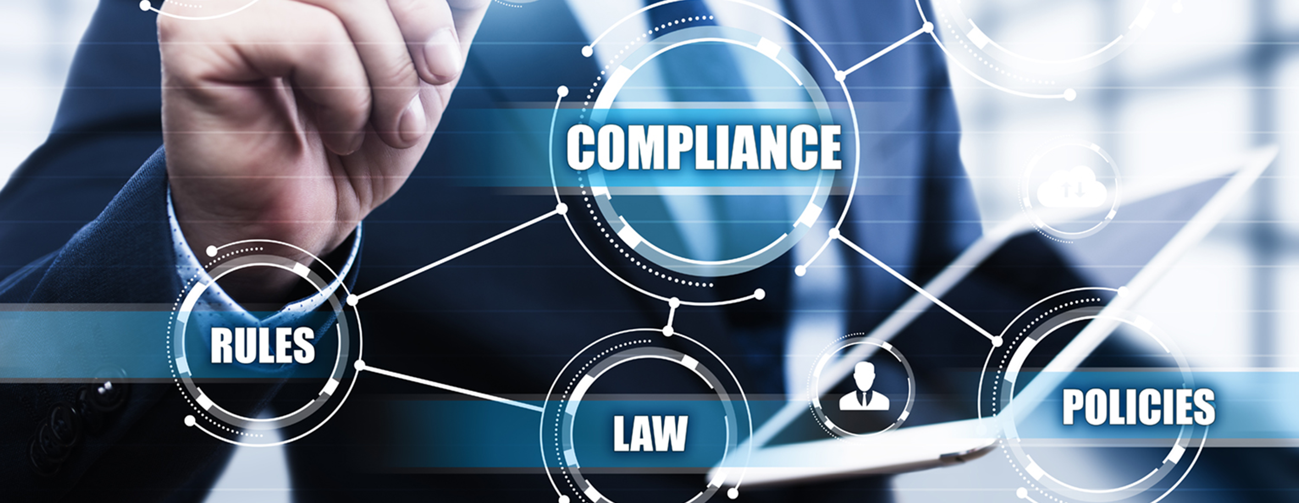 Security Service & Compliance Header Graphic